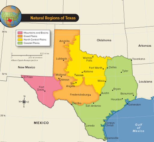 Regions of Texas - Mr. Peterson's History Class